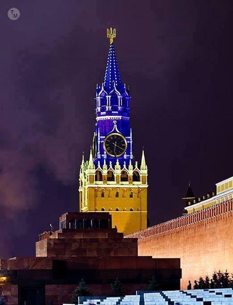 Над мэрией Праги вывесили флаг Украины - Цензор.НЕТ 3972