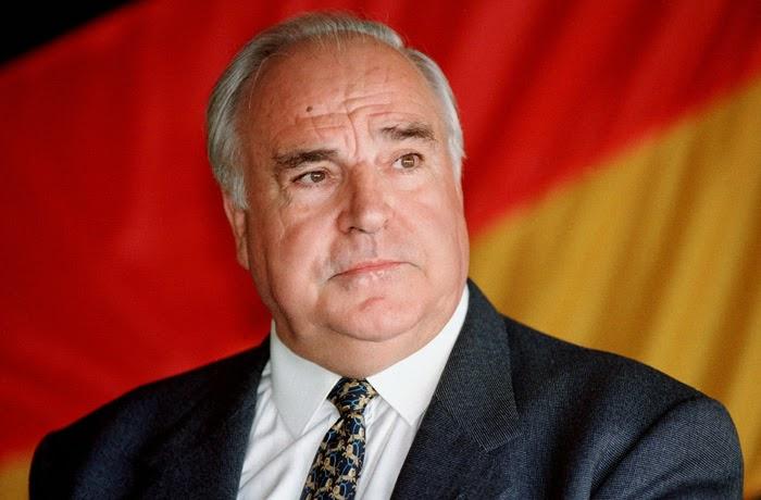 Bundeskanzler Helmut Kohl.  Eggesin, 07/1995
