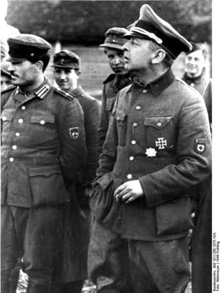 колчак - майор вермахта
