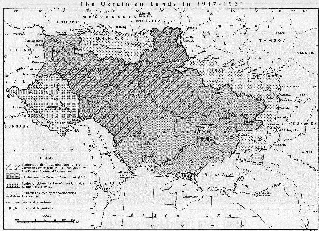 украина.1918-22.г.г.