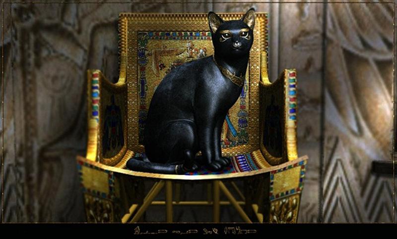 кошка.в.египте...