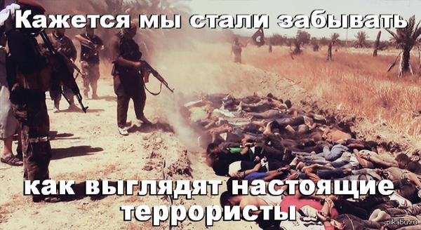 """""""настоящие""""террористы"""""""
