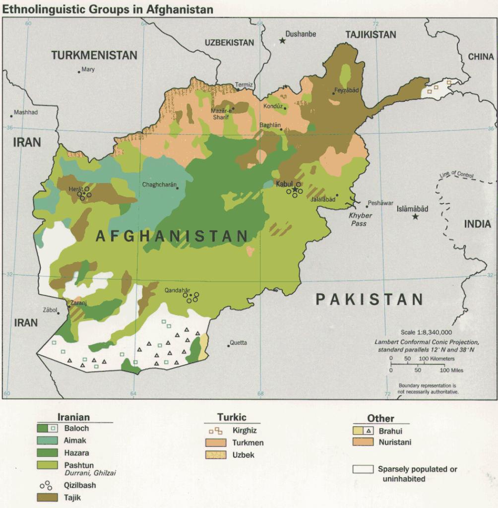 афган.карта.