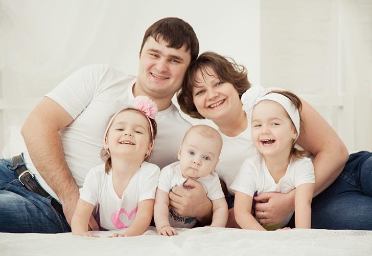 счастливая.семья.