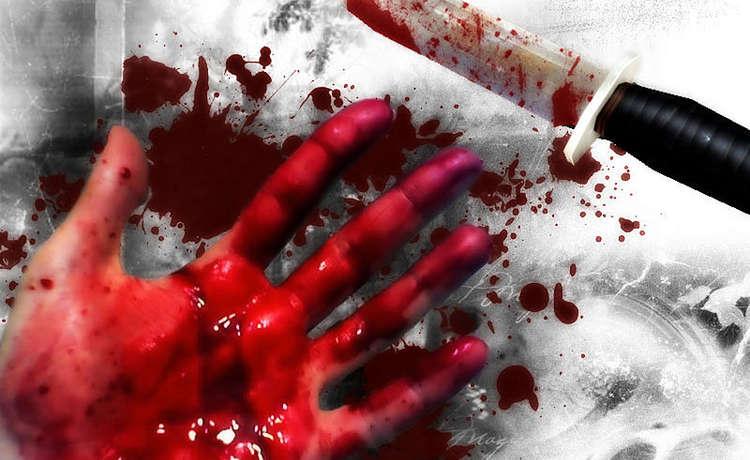 нож.и.рука.кровь.