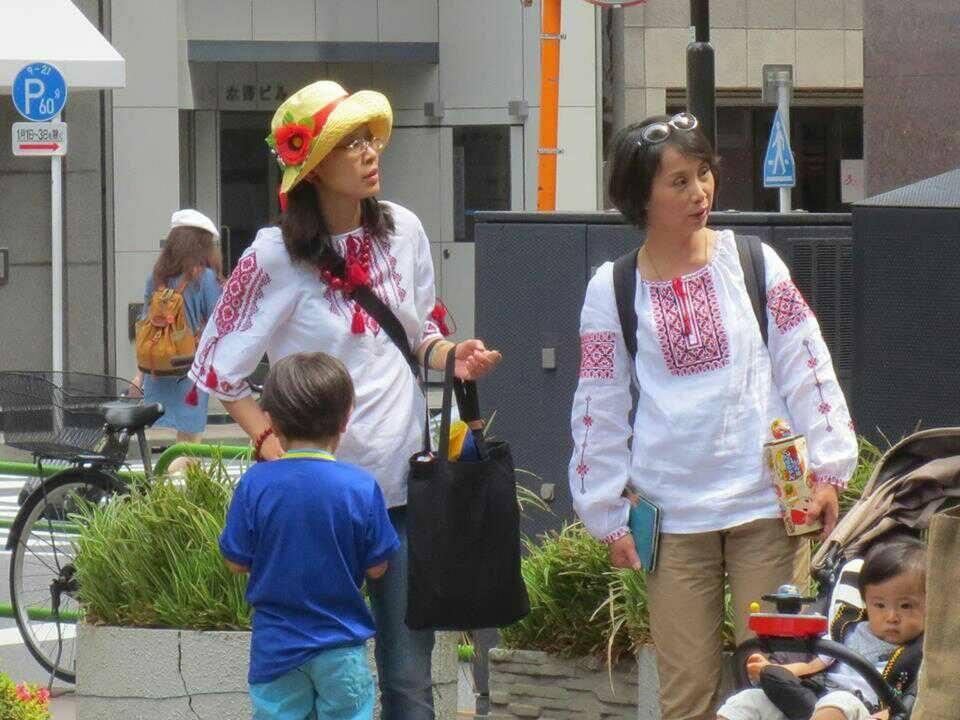 Япона мать.