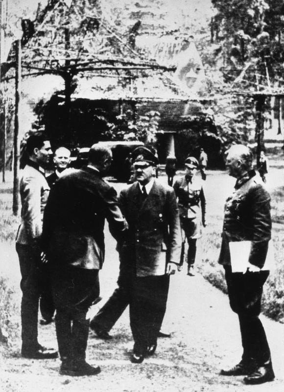 Führerhauptquartier, Stauffenberg, Hitler, Keitel