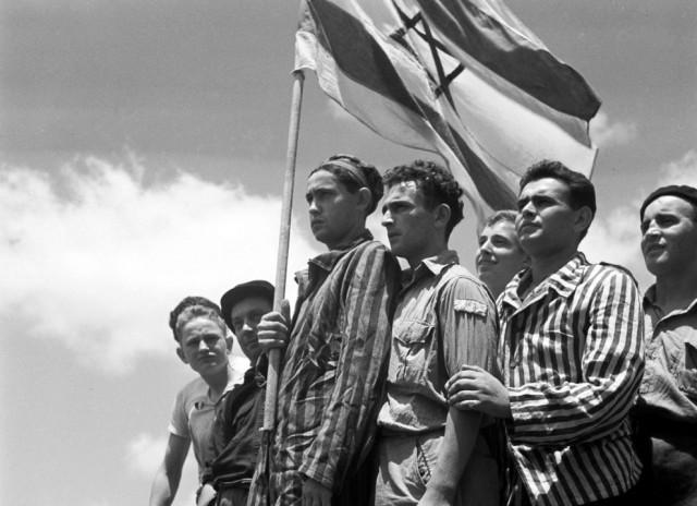 Евреи, спасшиеся из нацистского концлагеря Бухенвальд